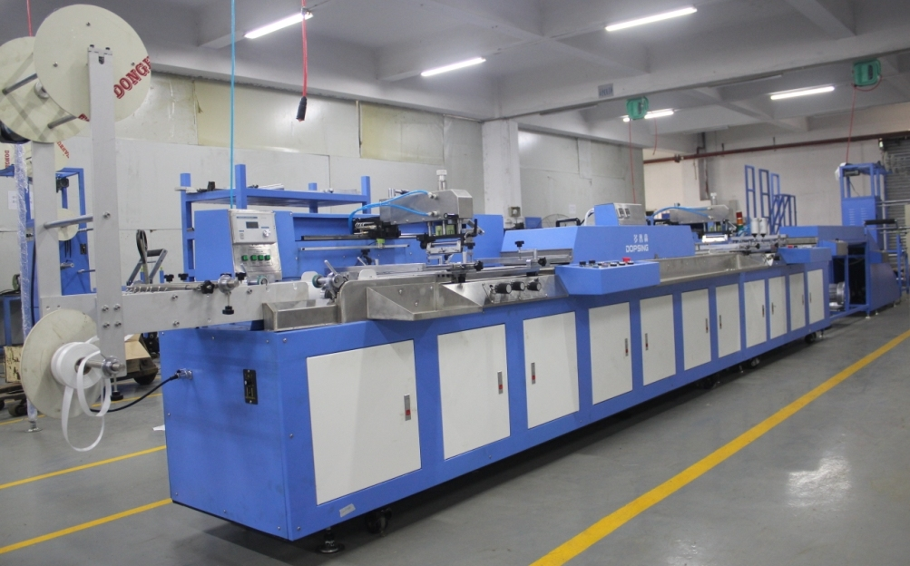2colors Fully Servo Ribbon Labels Automatic Screen Printing Machine with EUR Standard