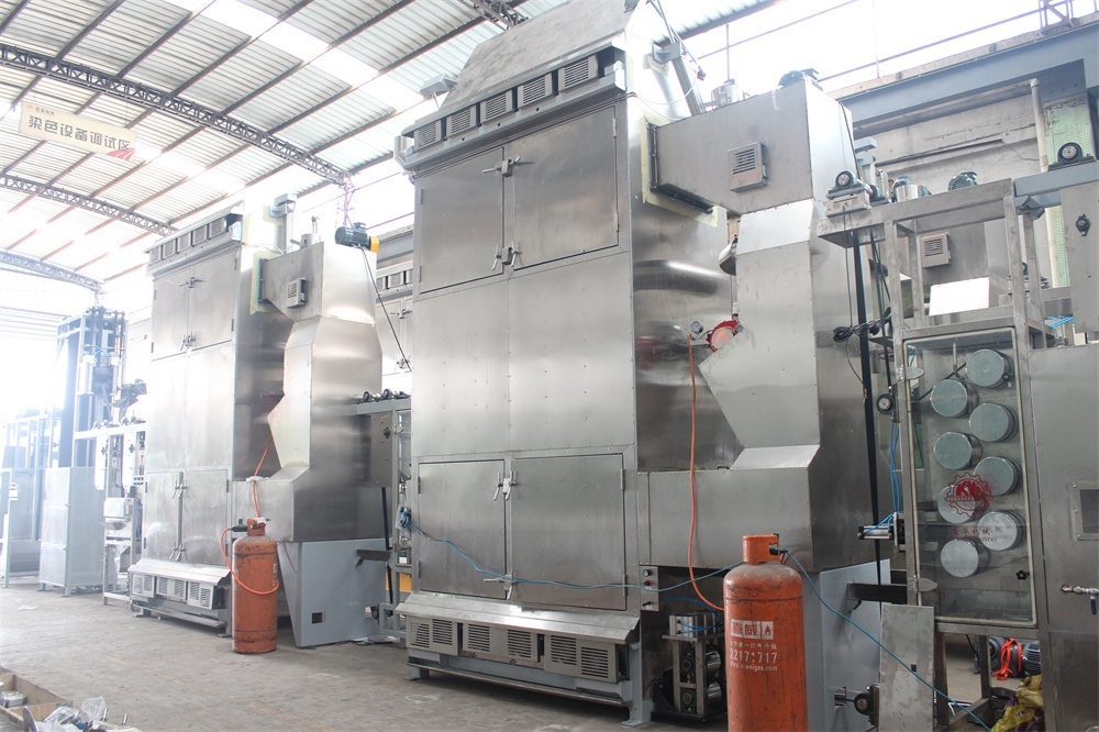 Single Line Safety Belt Continuous Dyeing and Finishing Machine