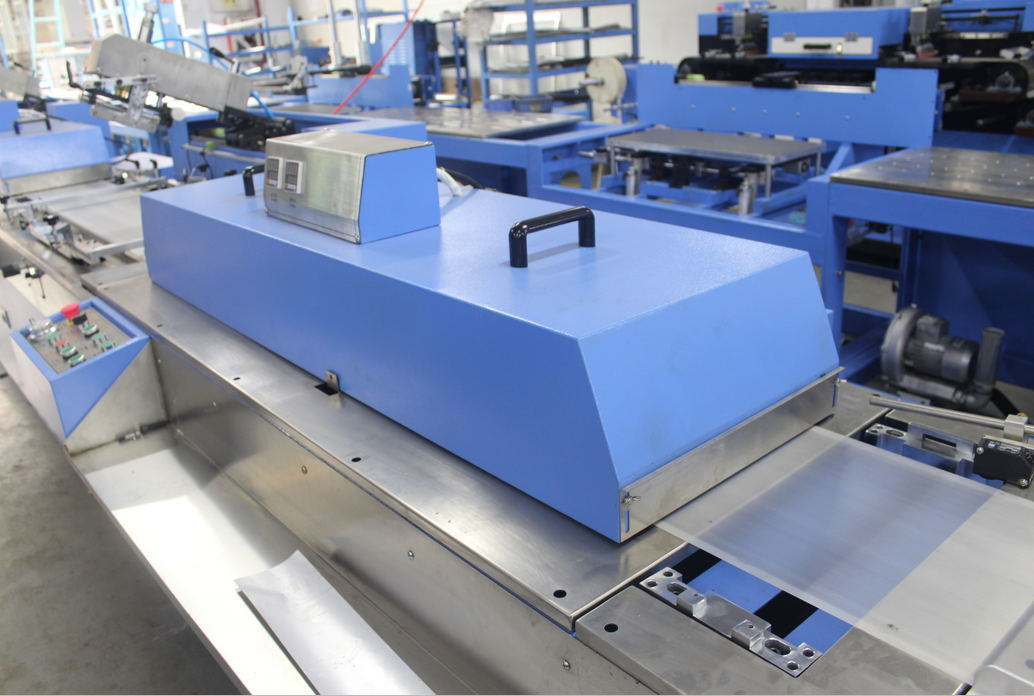 Content Label Automatic Screen Printing Machine for Sale (SPE-3000S-5C)