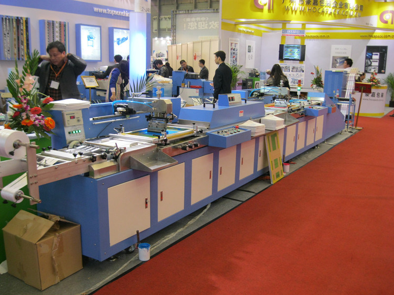 Electronic Label-Ribbon Automatic Screen Printing Machine (SPE-3000S-3C)