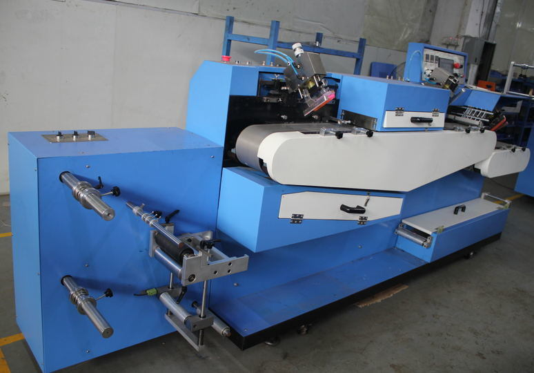 Care Label Automatic Screen Printing Machine 3+1c