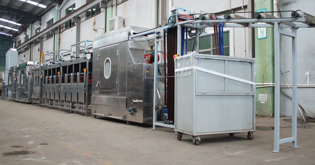 Nylon Webbing Luggage Webbing Continuous Dyeing Machine