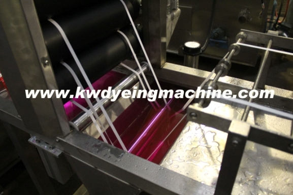 Polyester Elastic Webbing Continuous Dyeing&Finishing Machine with J-Box Storage