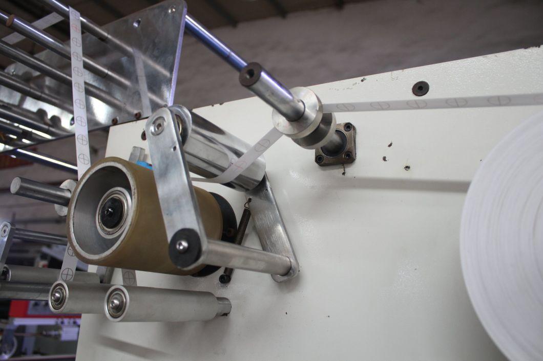 6 Heads Narrow Fabric Rolling Machine