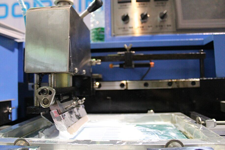 Multicolors Garment Labels Automatic Screen Printing Machine Ts-200