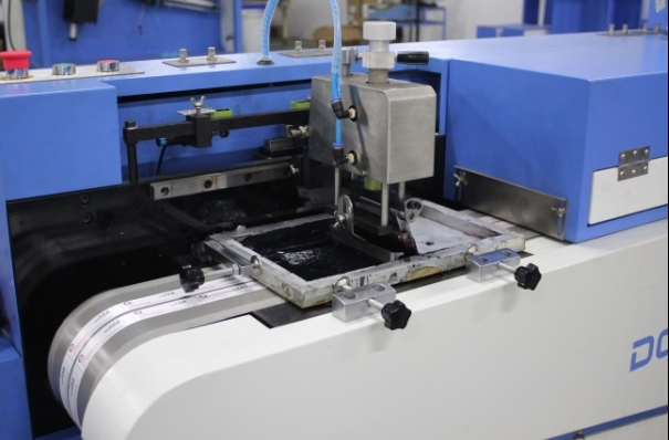 Garment Labels Screen Printing Machine with Two Faces Printing