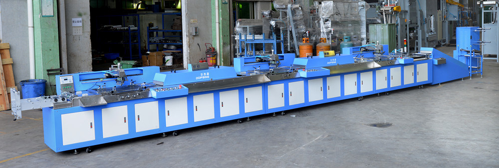 Label Ribbons Automatic Screen Printing Machine with Ce Approved