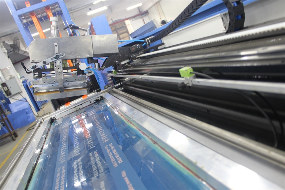 Polyester Lashing Straps Automatic Screen Printing Machine with High Efficiency
