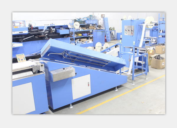 3colors Cotton Labels Automatic Screen Printing Machine