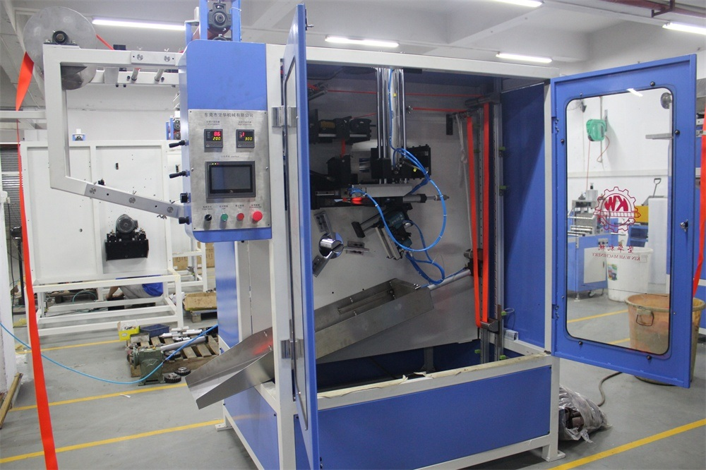 Seatbelt Automatic Cutting and Winding Machine with Stapling Function