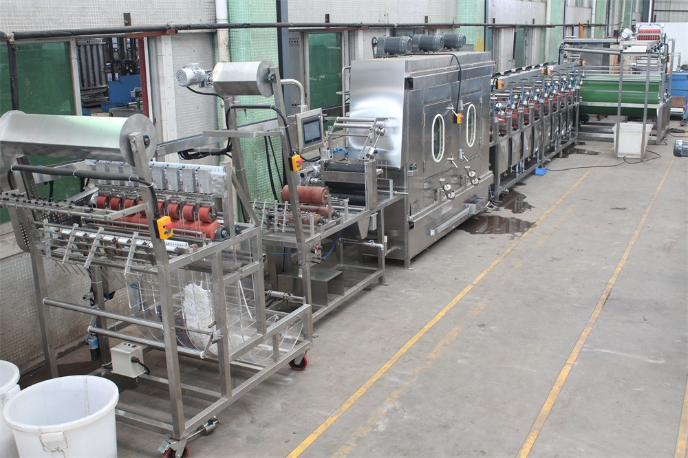 High Temp Polyester Nylon Tapes Continuous Dyeing and Finishing Machine