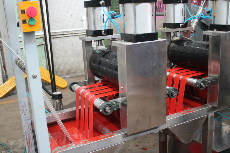Bag Belts Continuous Dyeing&Finishing Machine with Competitive Price Kw-800-Xb400