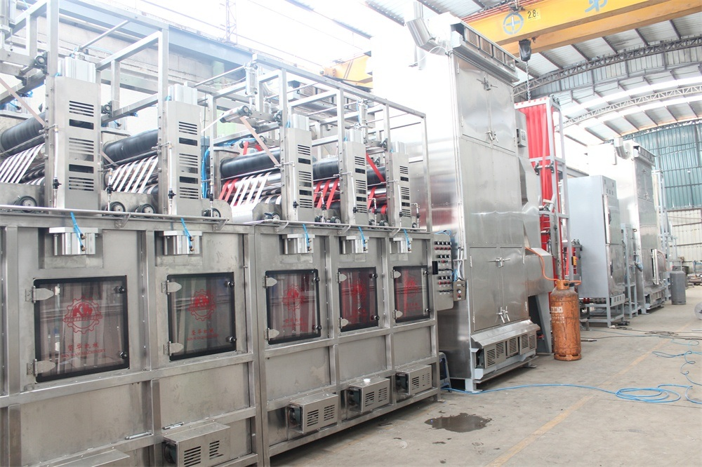 Safety Belt Webbings Continuous Dyeing and Finishing Machine for Sale