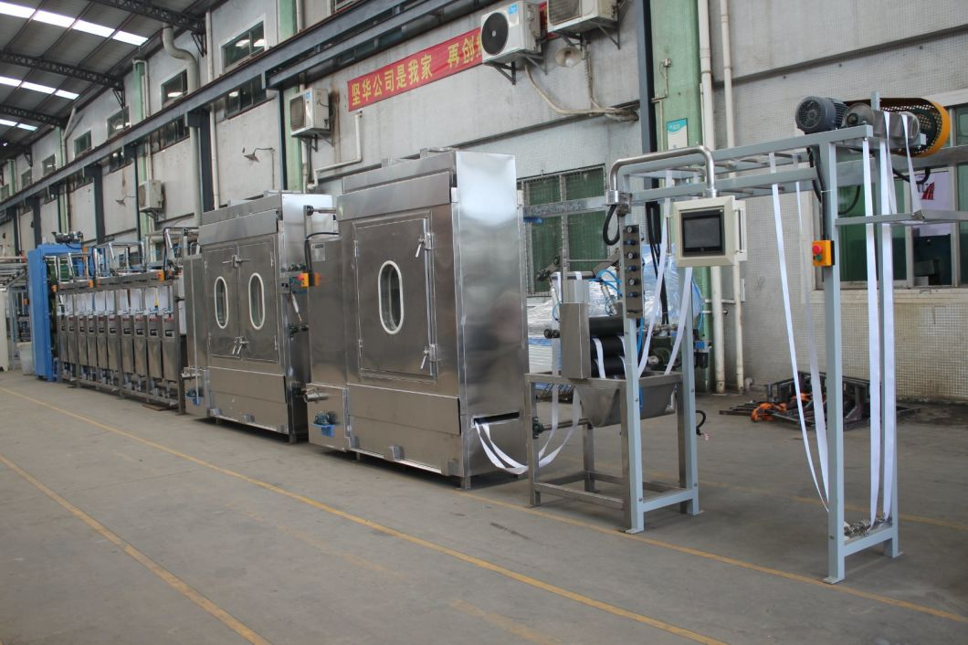 Satin Label Continuous Dyeing and Finishing Machine with CE