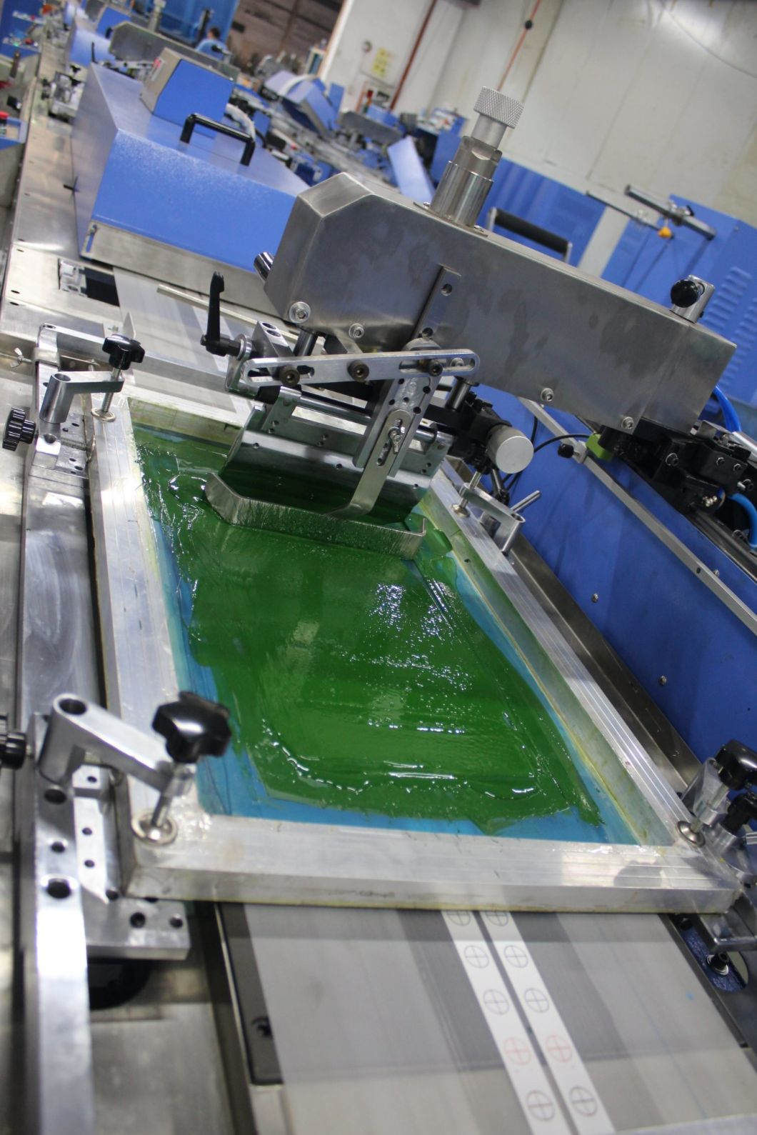 Clothing Labels Automatic Screen Printing Machine