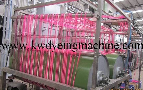Nylon Elastic Tapes Continuous Dyeing Machine with CE