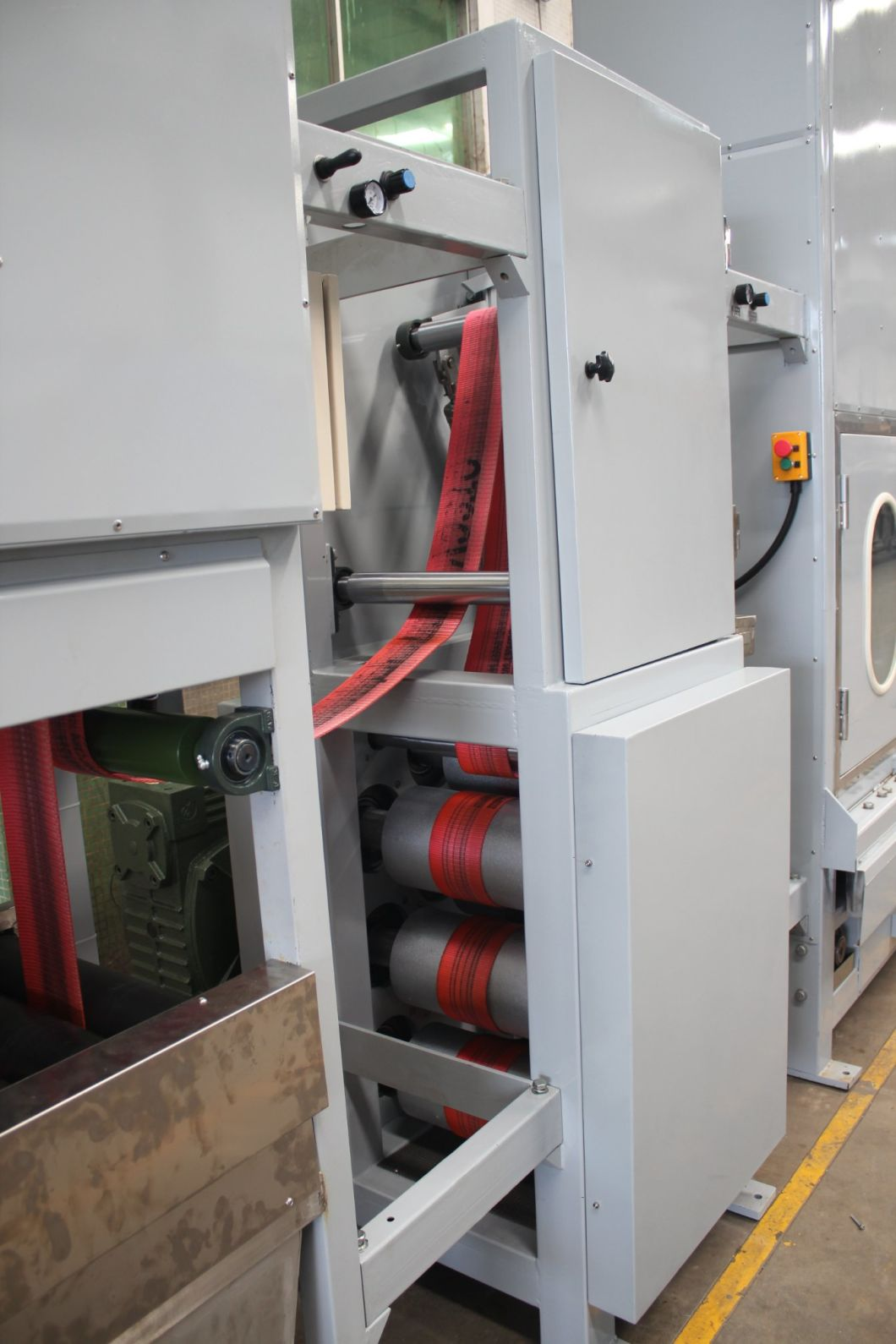 Cargo Harness Webbing Continuous Dyeing Machine