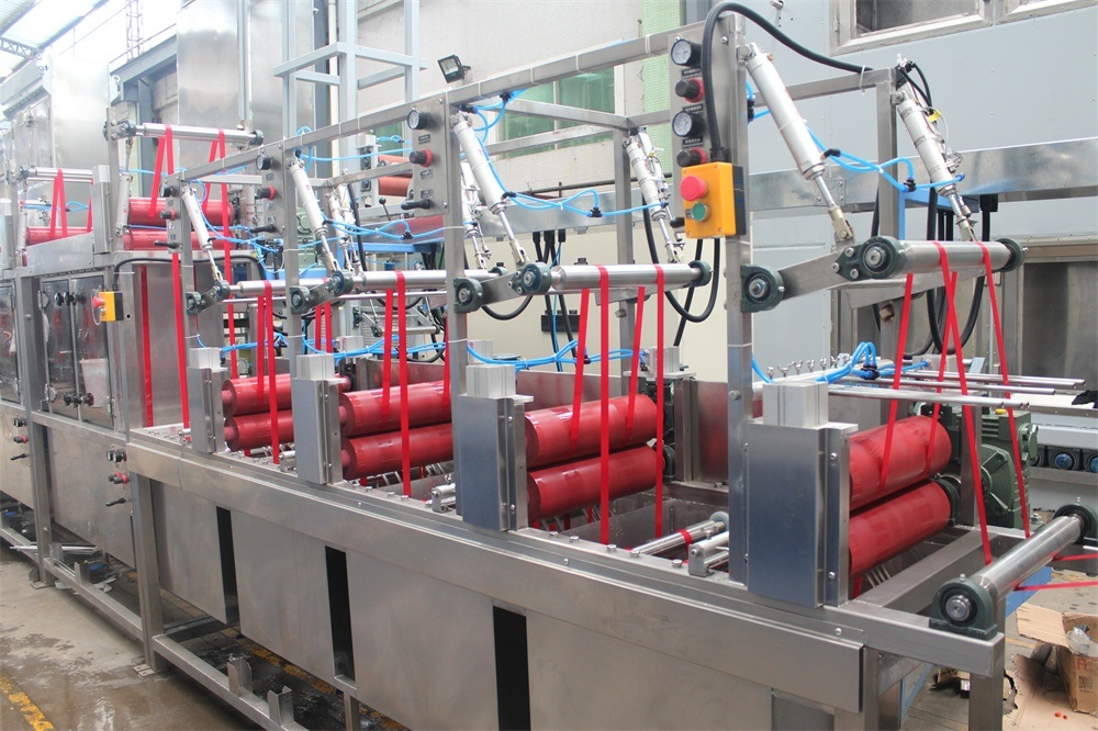 High Temperature Polyester Ribbons Dyeing&Finishing Machine