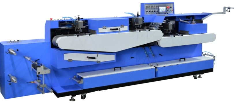 Woven Label Automatic Screen Printing Machine 3+1c