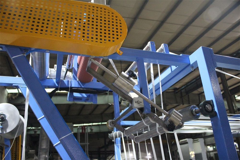 High Efficiency Nylon Webbing Finishing and Starching Machine
