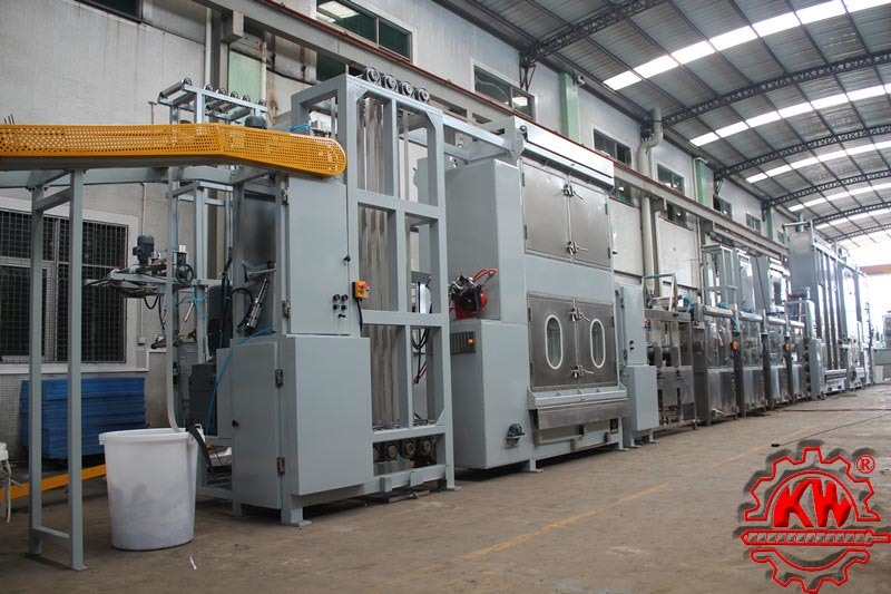 Heavy Duty Webbings Continuous Dyeing & Finishing Machine