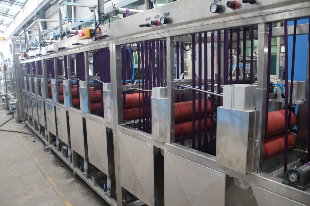 Pets Webbings Continuous Dyeing Machine with Ce Approved