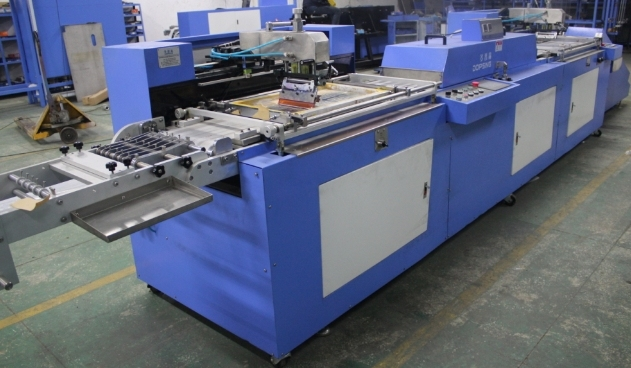 2 Colors Garment Label Automatic Screen Printing Machine with Ce