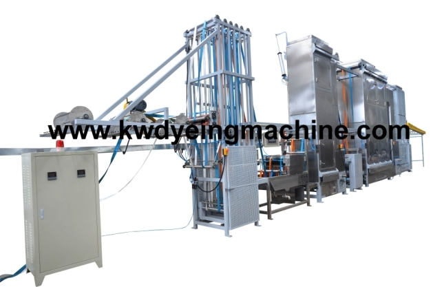 Lashing Straps Continuous Dyeing&Finishing Machine with CE Certificate