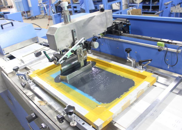 Multicolors Label Ribbons Screen Printing Machine with Large Capacity