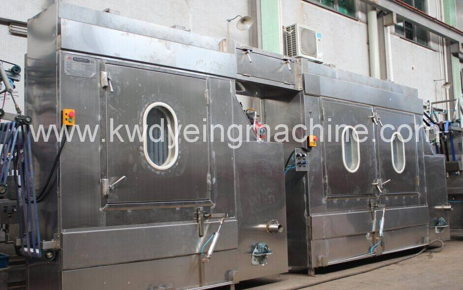 Bag Webbings Continuous Dyeing and Finishing Machine with 2 Heating Box