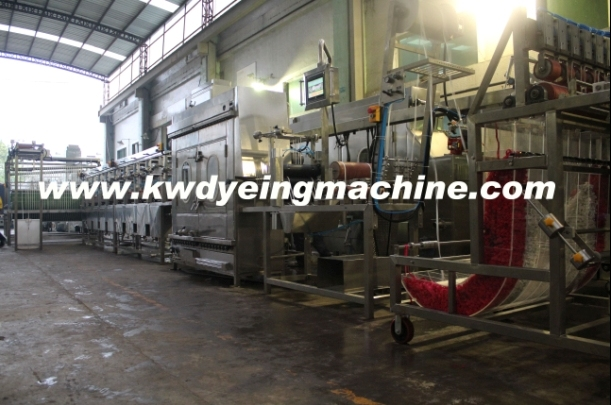 Waistband Elastic Tapes Continuous Finishing Machine Manufacturer