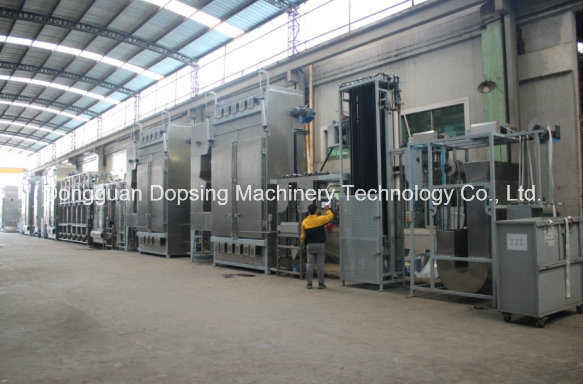 Nylon Tapes Continuous Dyeing and Finishing Machine