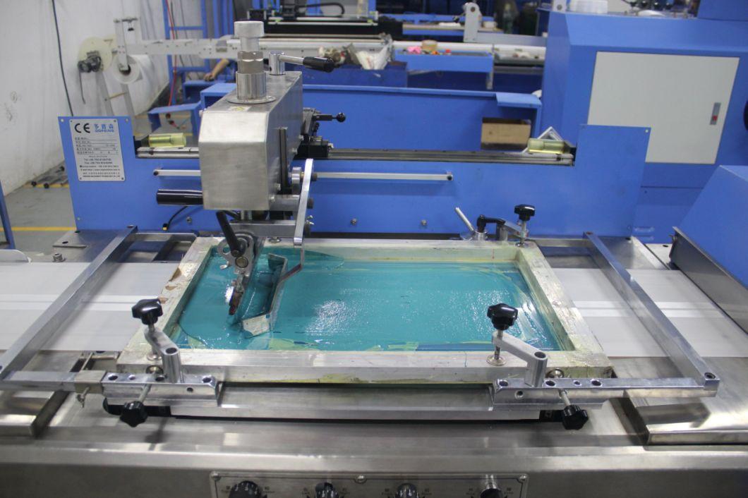 Elastic Tape/Care Labels/Label Ribbon Silk Screen Printing Machine