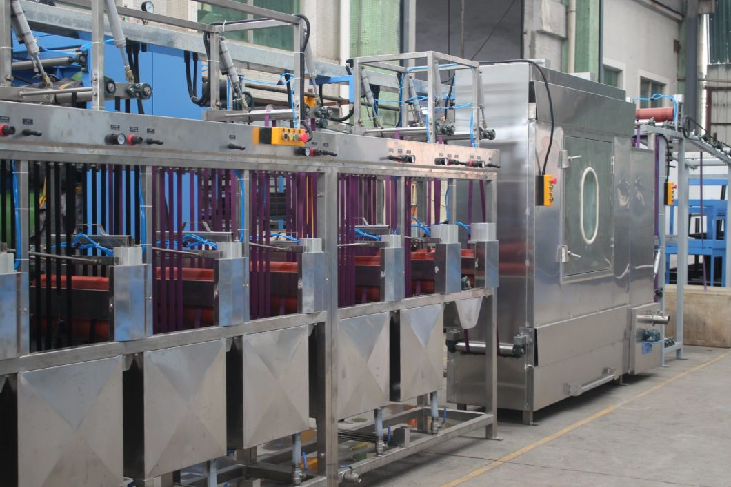 Luggage Webbing Continuous Dyeing and Finishing Machine