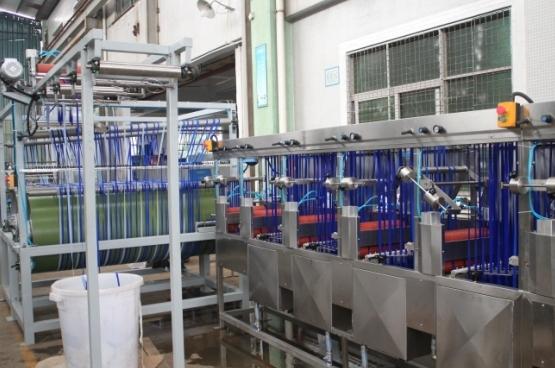 Nylon Elastic Tapes Dyeing&Finishing Machine for Sale