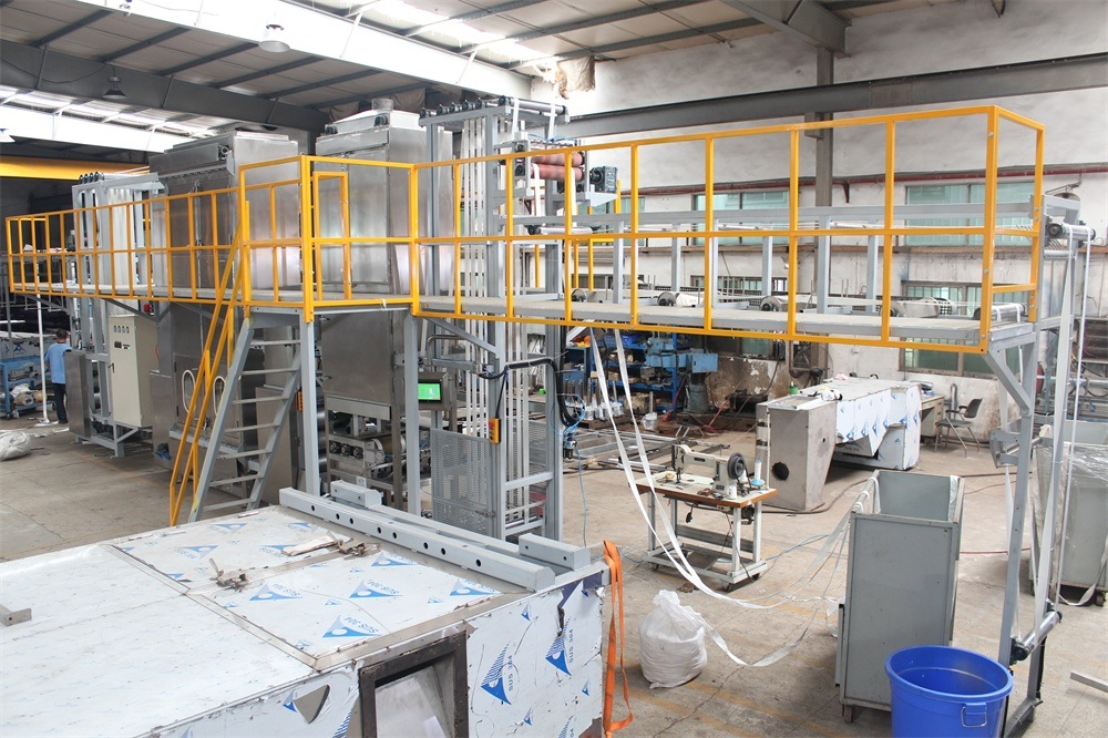 Wide Sling Webbing Continuous Dyeing and Finishing Machine with Ce