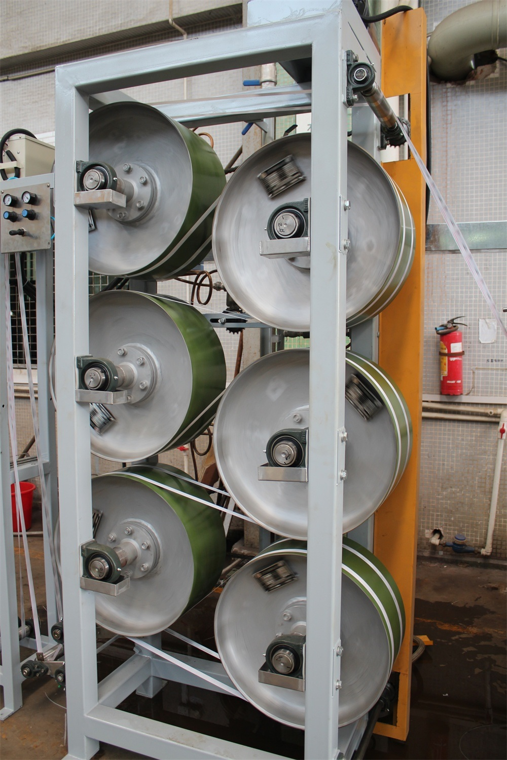 High Efficiency Polyester Ribbons Continuous Dyeing&Finishing Machine