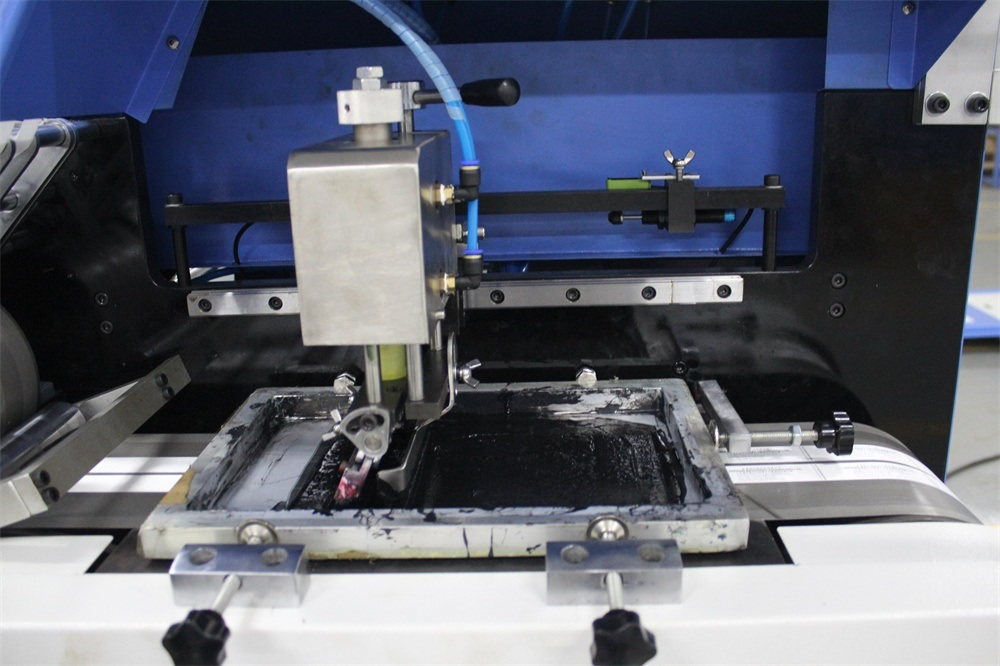 Elastic Webbings Automatic Screen Printing Machine (3+0)