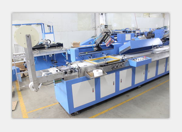 3 Colors Care Label Automatic Screen Printing Machine with High Precision