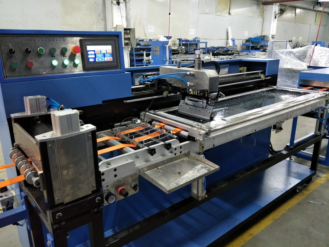 Single Color Harness Webbings Screen Printing Machine with High Precision