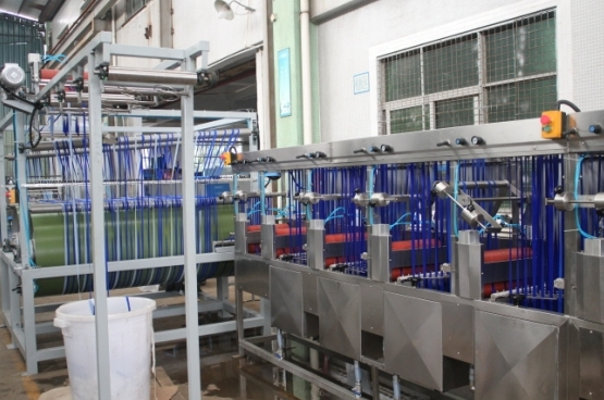 Nylon Elastic Tapes Continuous Dyeing Machine with Normal Temperature
