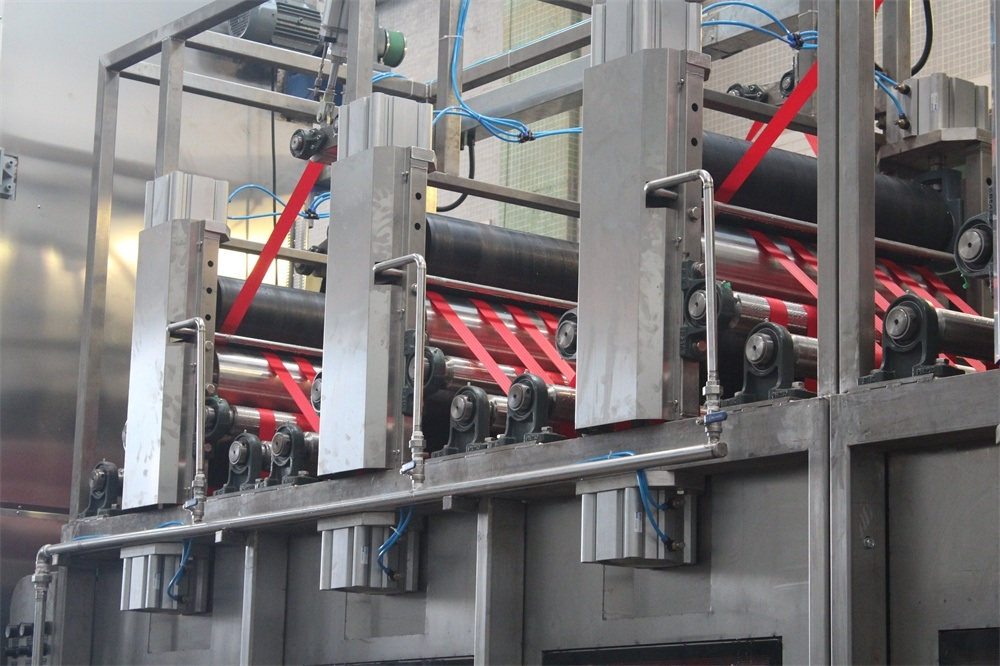 Automobile Safety Belts Dyeing and Finishing Machine with High Speed