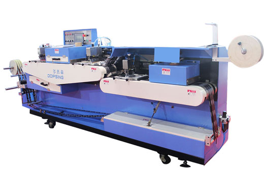 High temperature label ribbons automatic screen printing machine China Factory Featured Image