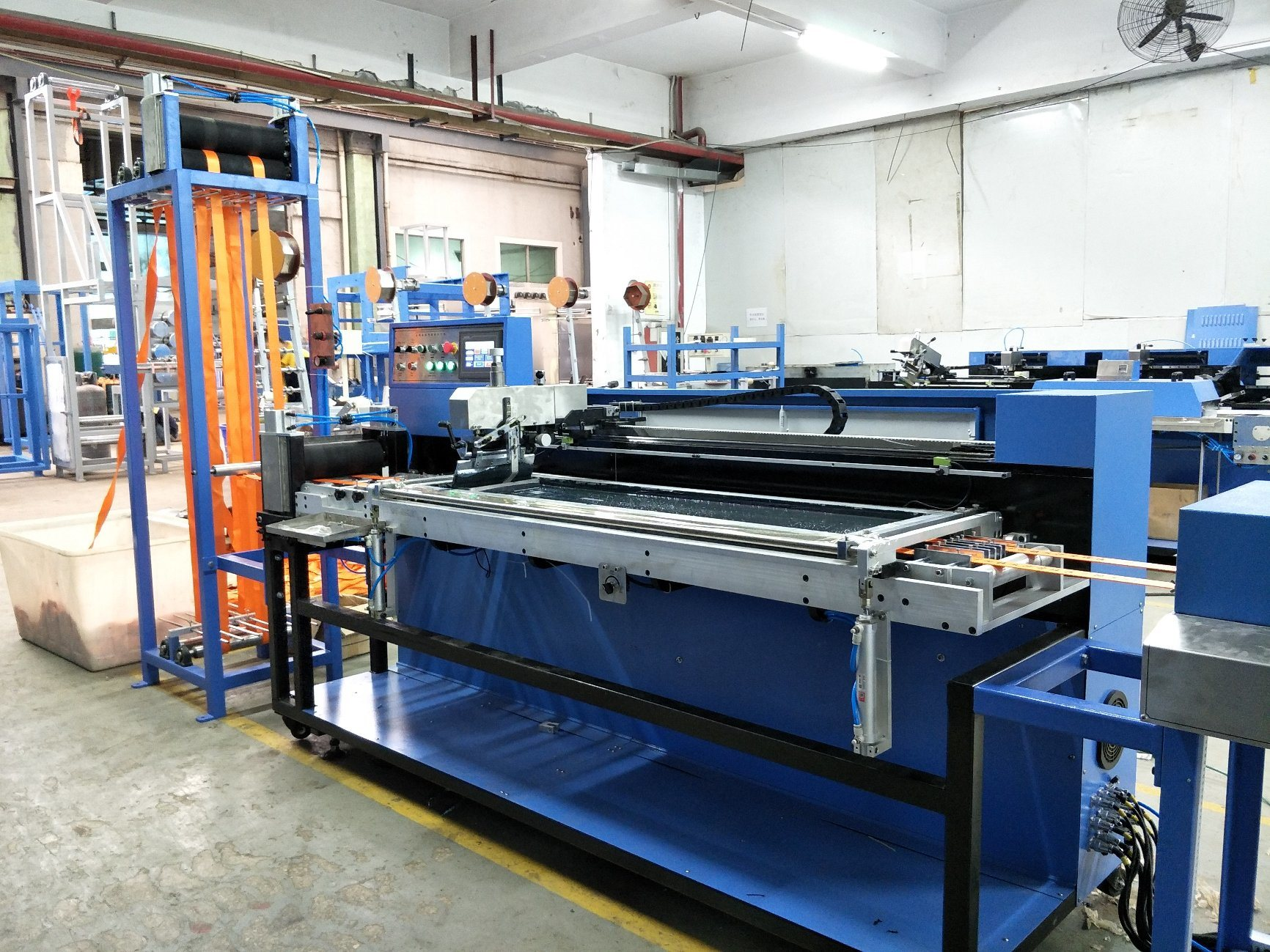 Heavy Duty Webbings Silk Screen Printing Machine with EUR Standard