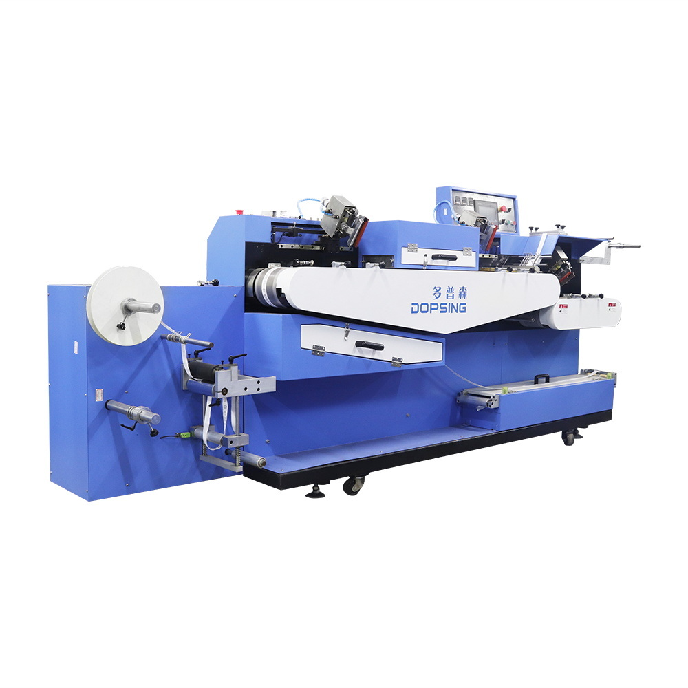 Factory making Cylindrical Screen Printing - Multi-Colors Film Automatic Screen Printing Machine for Sale – Kin Wah