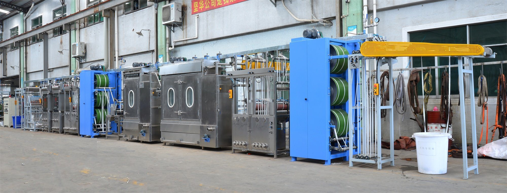 Factory Price Cargo Sling Webbings Continuous Dyeing And Finishing Machine - High Efficiency Polyester Ribbons Continuous Dyeing&Finishing Machine – Kin Wah