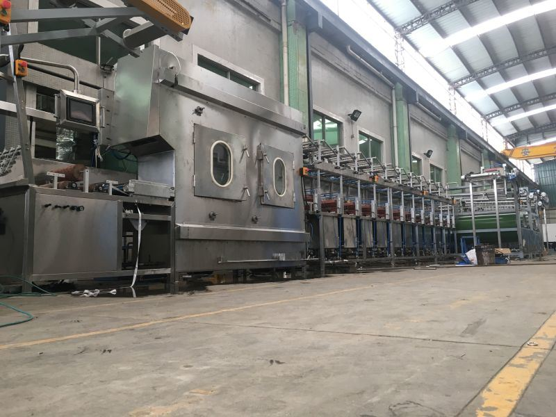Well-designed Flat Steel Belt Type Automatic Screen Printing Machine - Nylon Tapes Dyeing&Finishing Machine with High Quality Price Ratio – Kin Wah