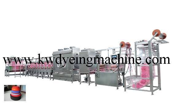 China OEM Washing Care Labels Automatic Screen Printing Machine -