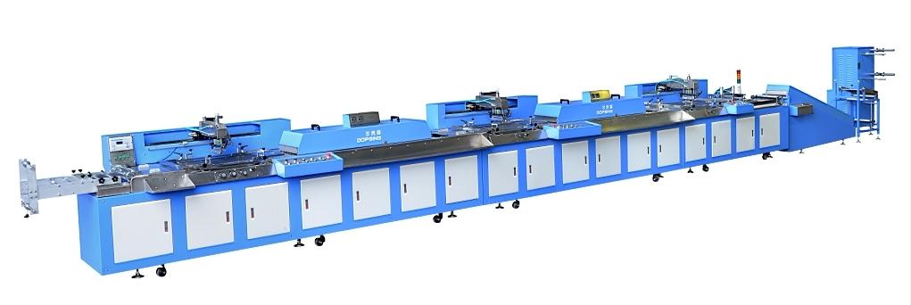 Hot Sale for Dps-008 High Speed Ultrasonic Digital Label Cutting Machine - Automatic Fabric Label Silk Screen Printing Machine Roll to Roll – Kin Wah