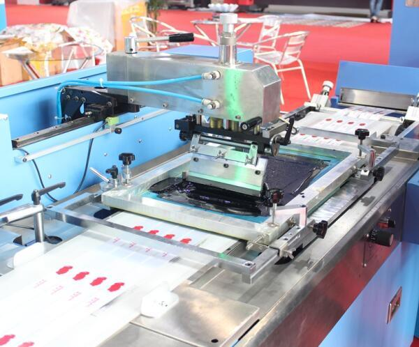 2 Colors Lanyards Automatic Screen Printing Machine with Ce